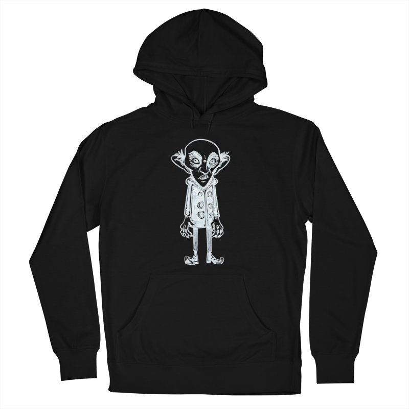 NOSFERATU Men's French Terry Pullover Hoody by iCKY the Great's Artist Shop
