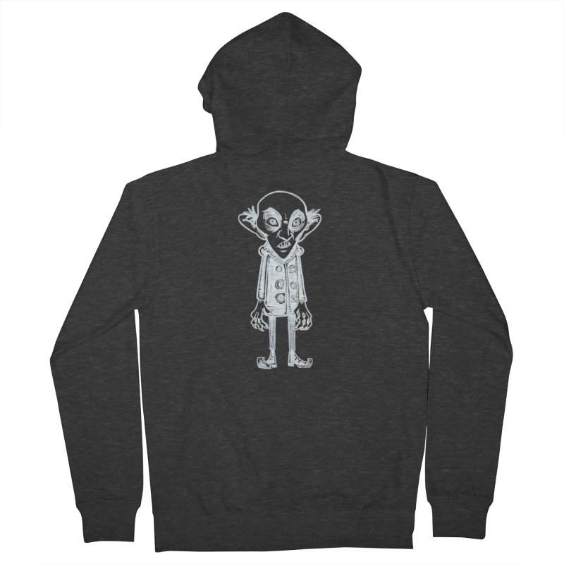 NOSFERATU Men's French Terry Zip-Up Hoody by iCKY the Great's Artist Shop