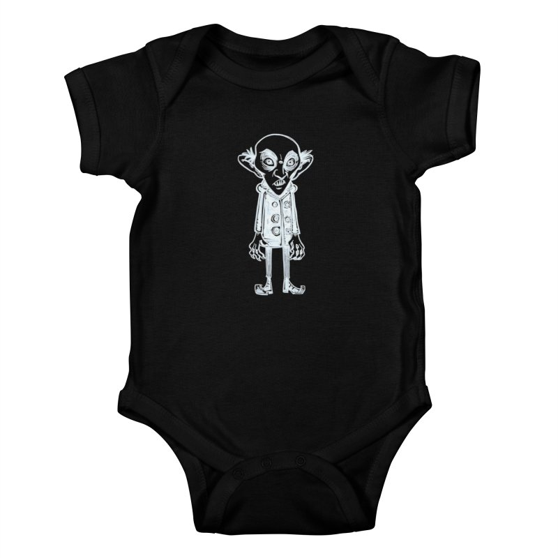 NOSFERATU Kids Baby Bodysuit by iCKY the Great's Artist Shop