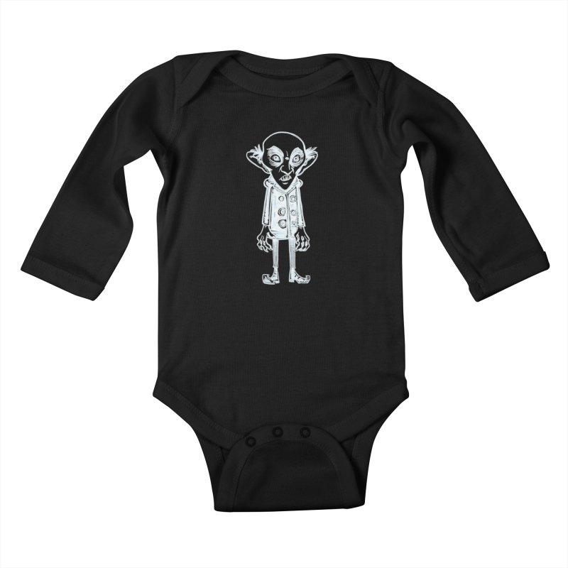 NOSFERATU Kids Baby Longsleeve Bodysuit by iCKY the Great's Artist Shop