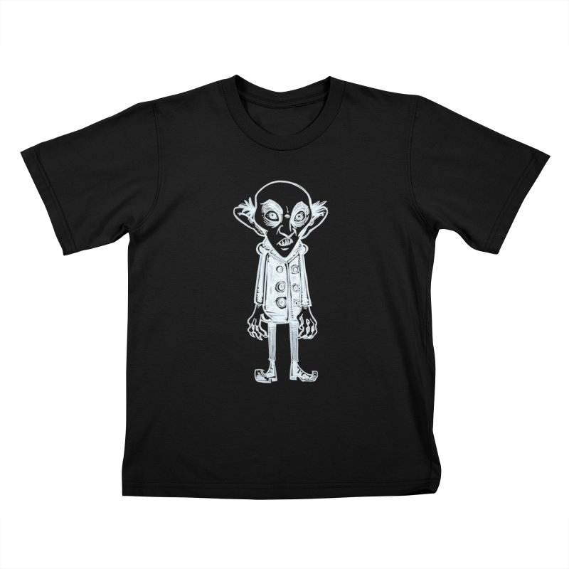 NOSFERATU Kids T-Shirt by iCKY the Great's Artist Shop
