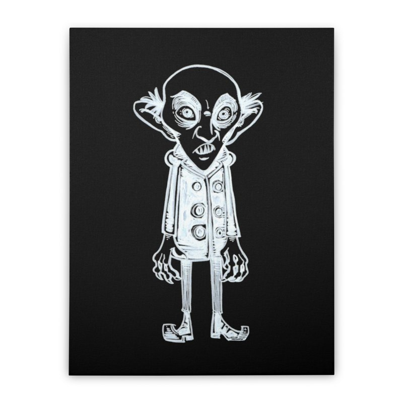 NOSFERATU Home Stretched Canvas by iCKY the Great's Artist Shop