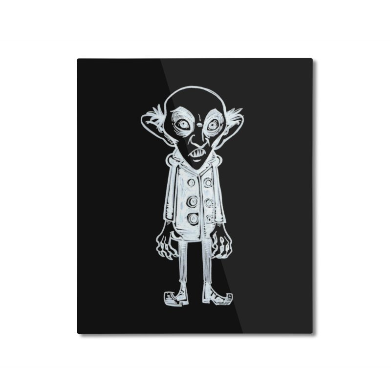 NOSFERATU Home Mounted Aluminum Print by iCKY the Great's Artist Shop