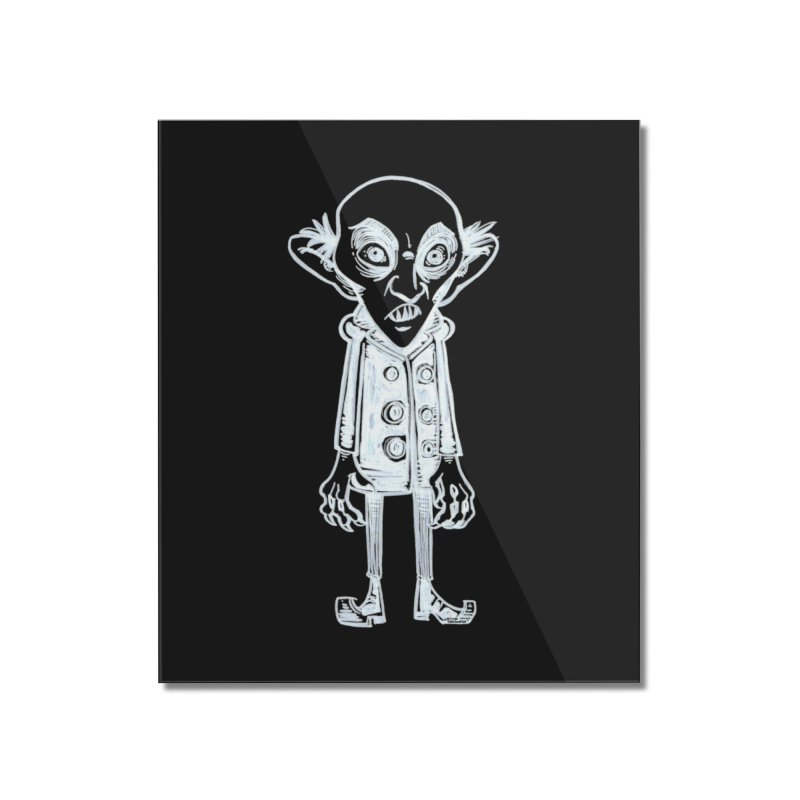 NOSFERATU Home Mounted Acrylic Print by iCKY the Great's Artist Shop