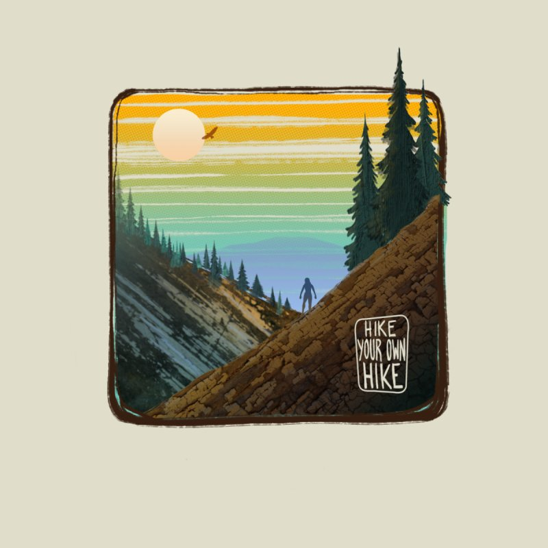 HIKE YOUR OWN HIKE Accessories Bag by iCKY the Great's Artist Shop