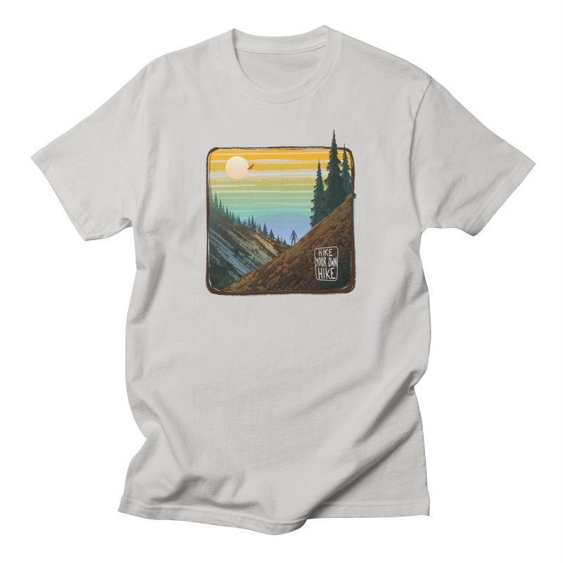 HIKE YOUR OWN HIKE Men's T-Shirt by iCKY the Great's Artist Shop