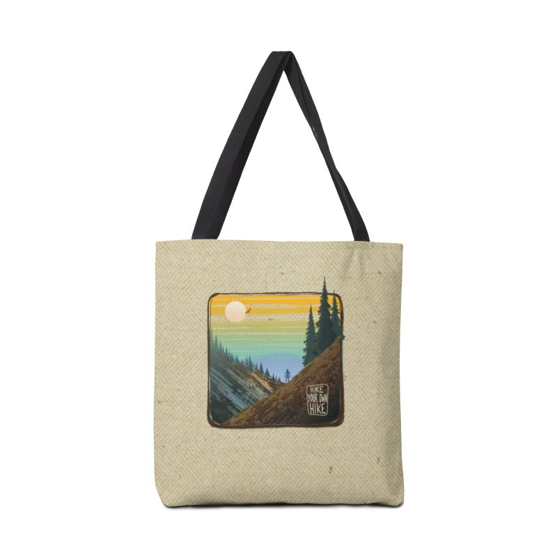 HIKE YOUR OWN HIKE Accessories Tote Bag Bag by iCKY the Great's Artist Shop