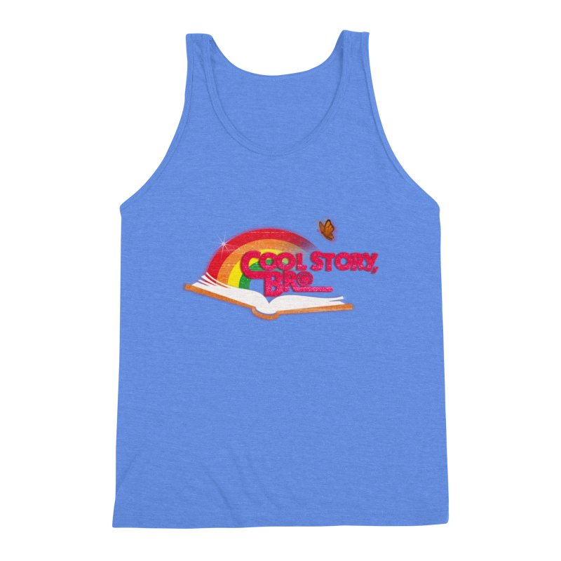 COOL STORY, BRO Men's Triblend Tank by iCKY the Great's Artist Shop