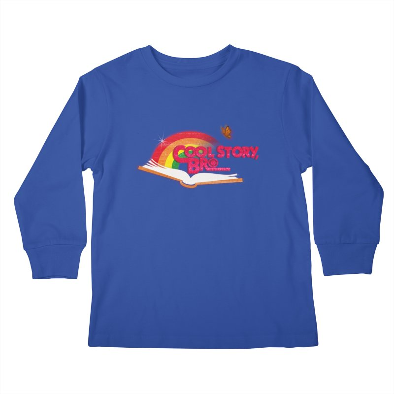 COOL STORY, BRO Kids Longsleeve T-Shirt by iCKY the Great's Artist Shop