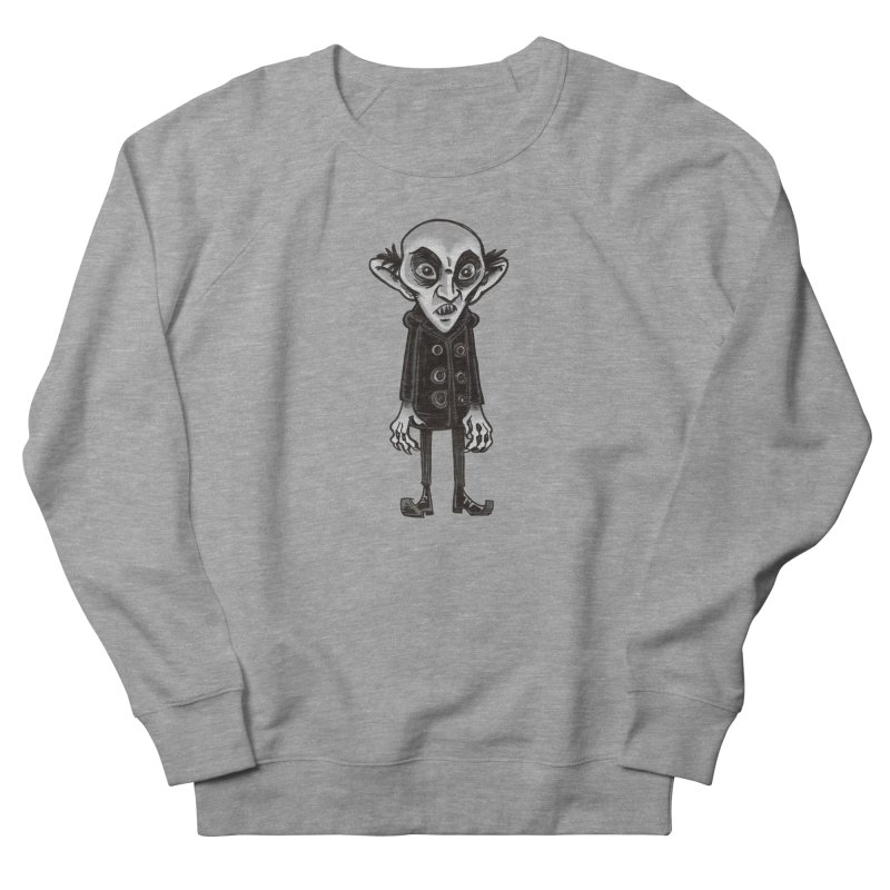 CUTE NOSFERATU Women's French Terry Sweatshirt by iCKY the Great's Artist Shop
