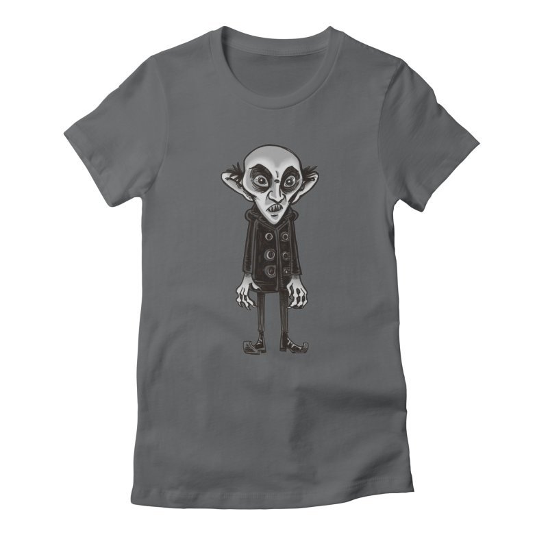 CUTE NOSFERATU Women's Fitted T-Shirt by iCKY the Great's Artist Shop