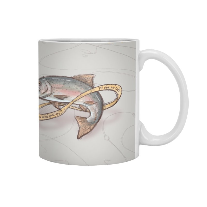 FISHING TRUTHS Accessories Mug by iCKY the Great's Artist Shop