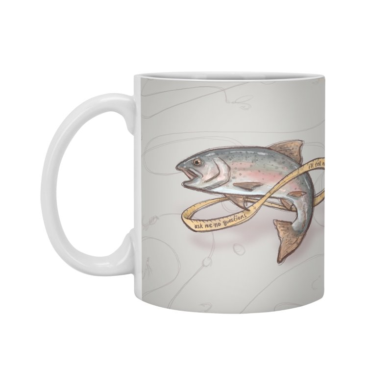 FISHING TRUTHS Accessories Standard Mug by iCKY the Great's Artist Shop