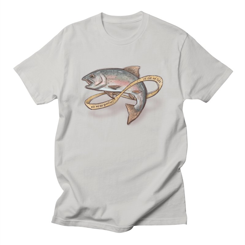 FISHING TRUTHS Men's T-Shirt by iCKY the Great's Artist Shop