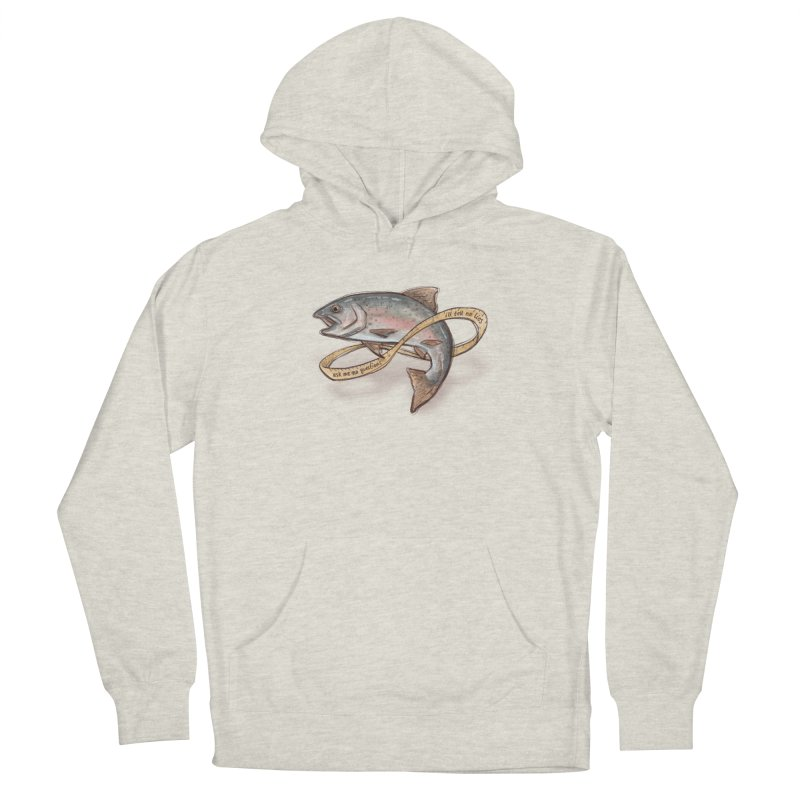 FISHING TRUTHS Women's Pullover Hoody by iCKY the Great's Artist Shop