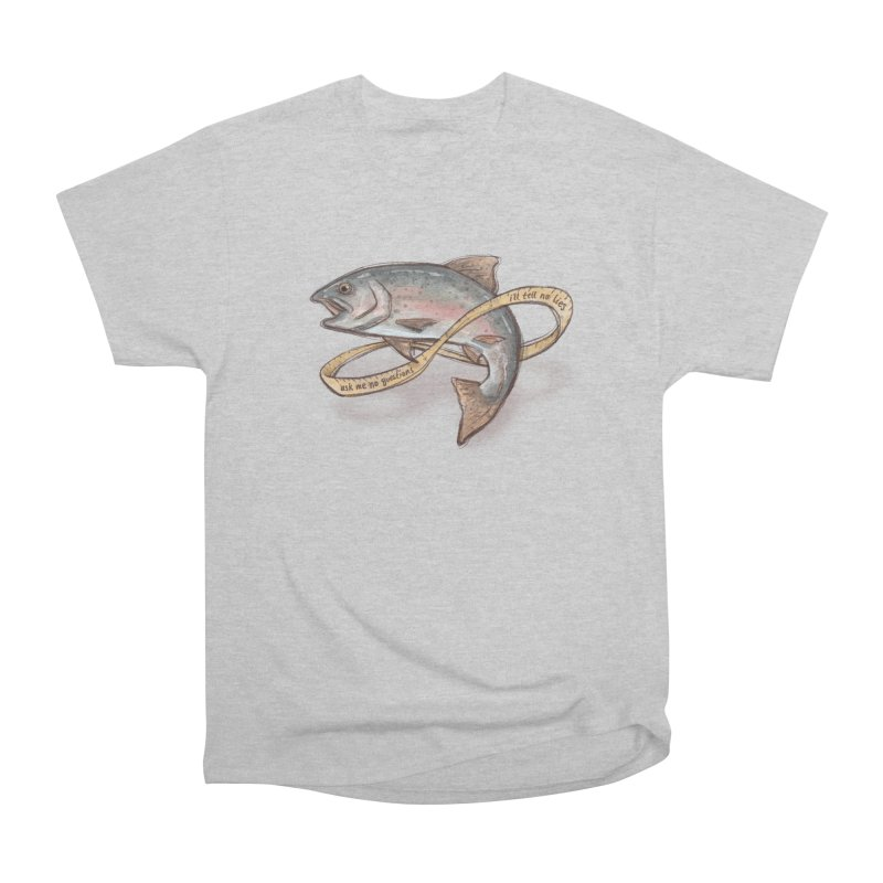 FISHING TRUTHS Women's Heavyweight Unisex T-Shirt by iCKY the Great's Artist Shop