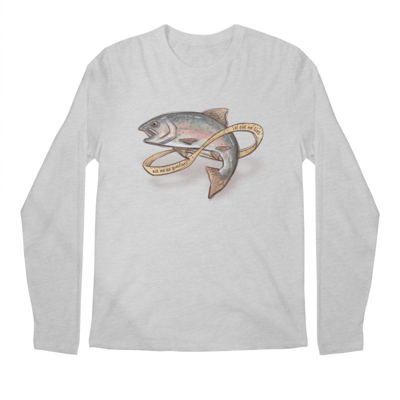 FISHING TRUTHS Men's Longsleeve T-Shirt by iCKY the Great's Artist Shop