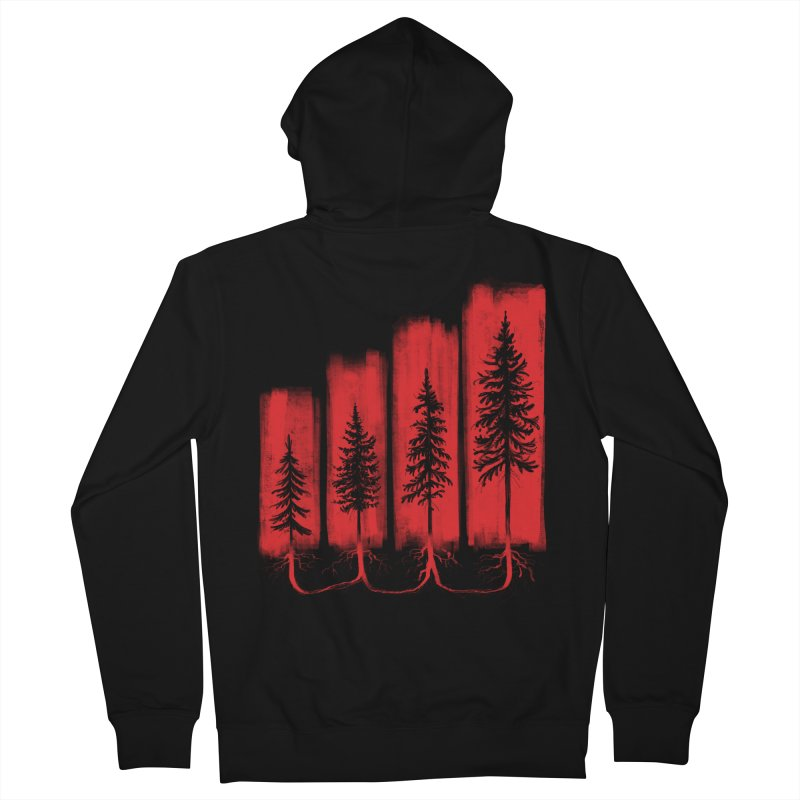 CONNECTED Women's Zip-Up Hoody by iCKY the Great's Artist Shop