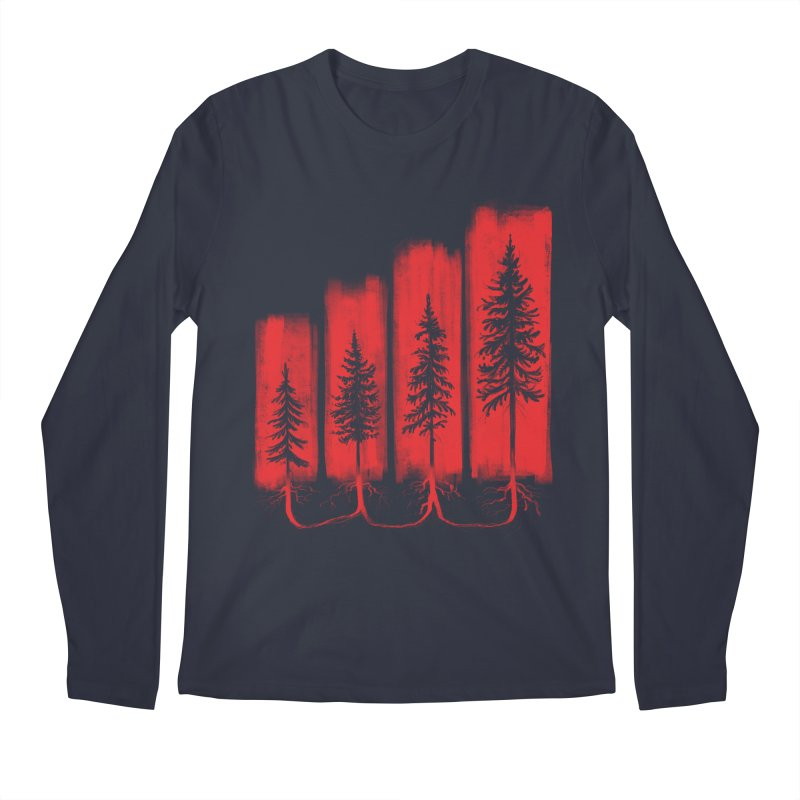 CONNECTED Men's Regular Longsleeve T-Shirt by iCKY the Great's Artist Shop