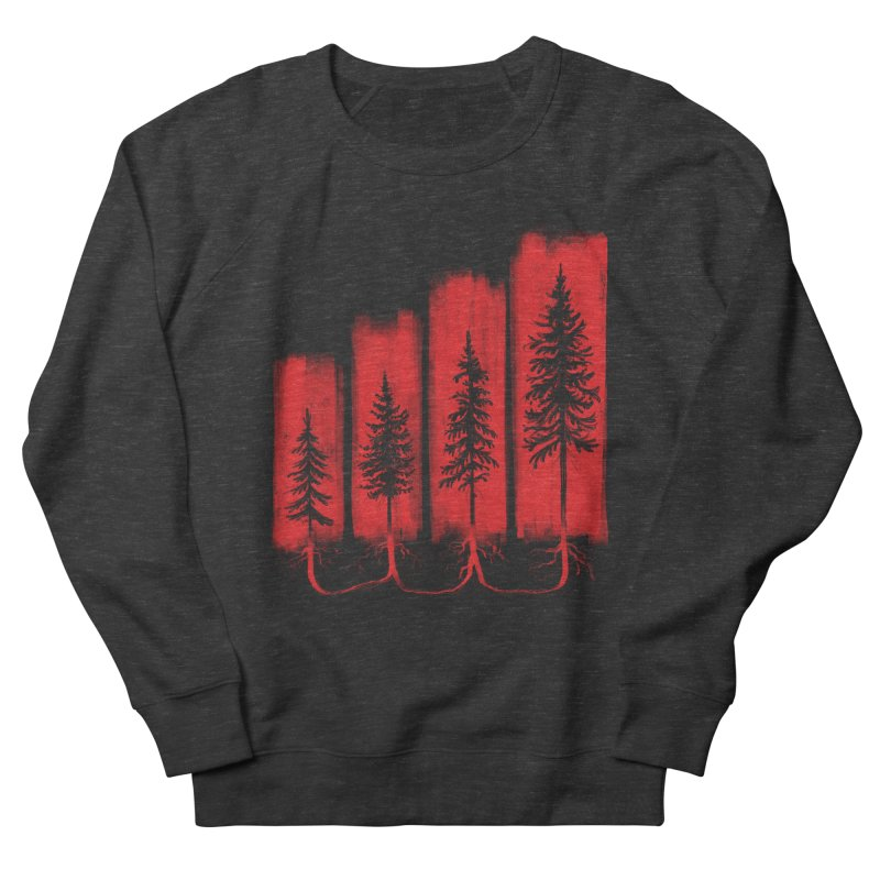 CONNECTED Men's French Terry Sweatshirt by iCKY the Great's Artist Shop