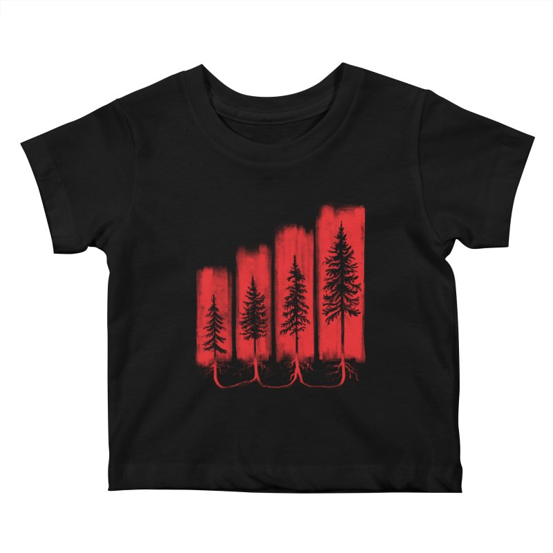 CONNECTED Kids Baby T-Shirt by iCKY the Great's Artist Shop