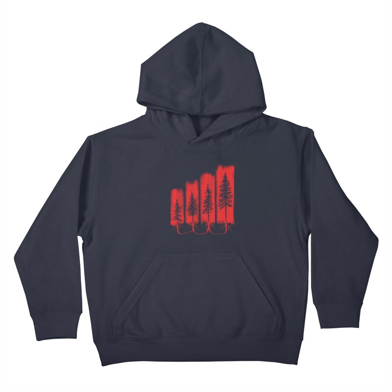 CONNECTED Kids Pullover Hoody by iCKY the Great's Artist Shop