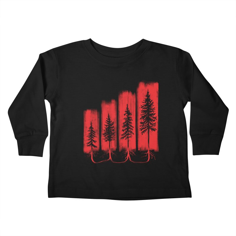 CONNECTED Kids Toddler Longsleeve T-Shirt by iCKY the Great's Artist Shop