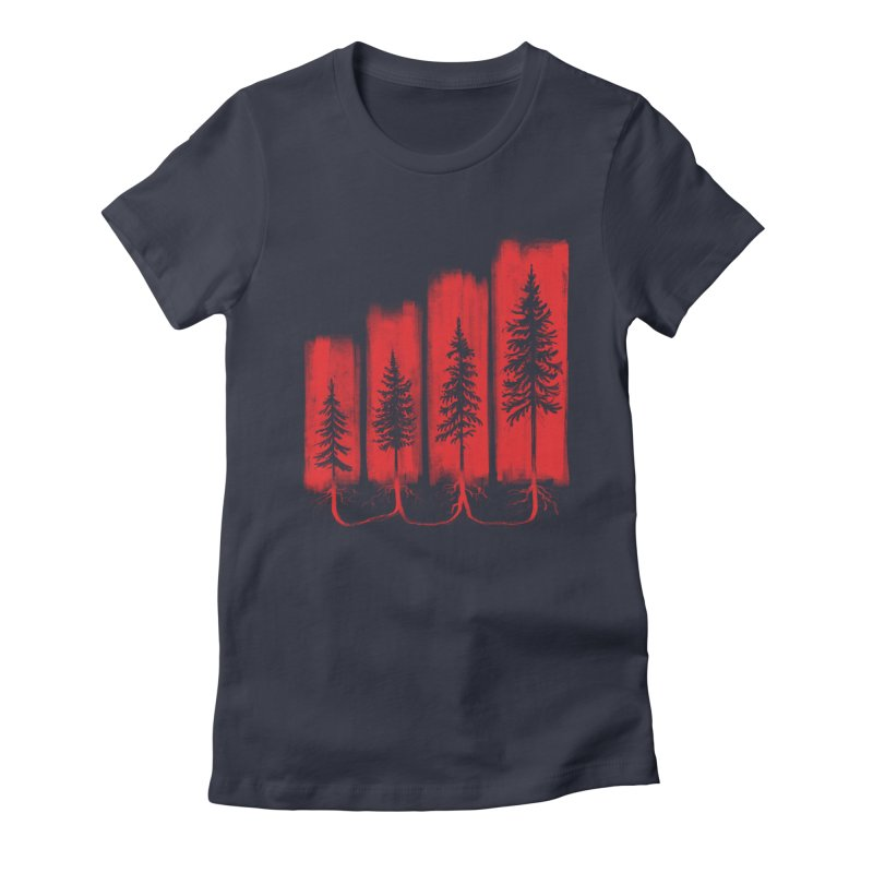 CONNECTED Women's T-Shirt by iCKY the Great's Artist Shop