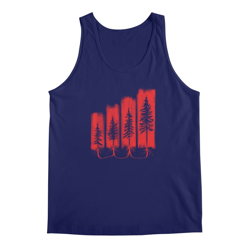 CONNECTED Men's Regular Tank by iCKY the Great's Artist Shop