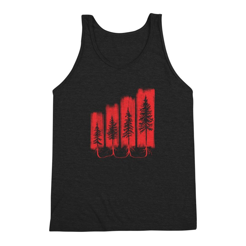 CONNECTED Men's Triblend Tank by iCKY the Great's Artist Shop