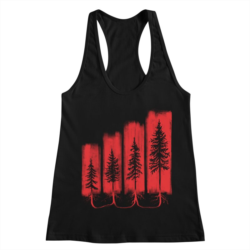 CONNECTED Women's Racerback Tank by iCKY the Great's Artist Shop