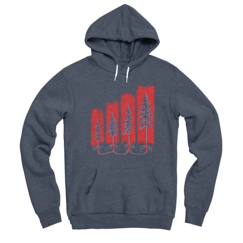 CONNECTED ('Merica Edition) Women's Pullover Hoody by iCKY the Great's Artist Shop