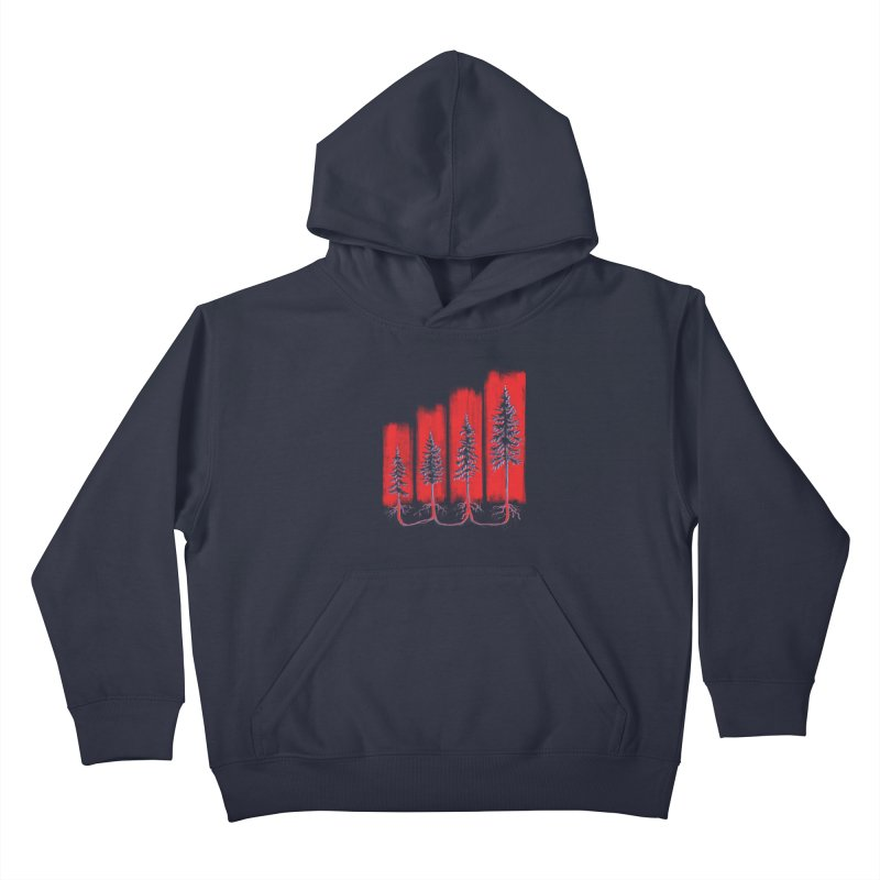 CONNECTED ('Merica Edition) Kids Pullover Hoody by iCKY the Great's Artist Shop