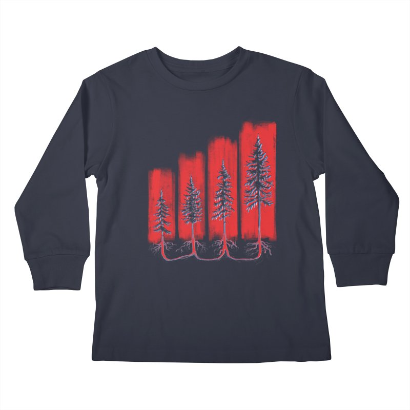 CONNECTED ('Merica Edition) Kids Longsleeve T-Shirt by iCKY the Great's Artist Shop