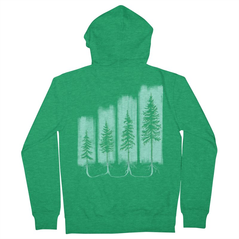 CONNECTED (Elevation Edition) Men's French Terry Zip-Up Hoody by iCKY the Great's Artist Shop