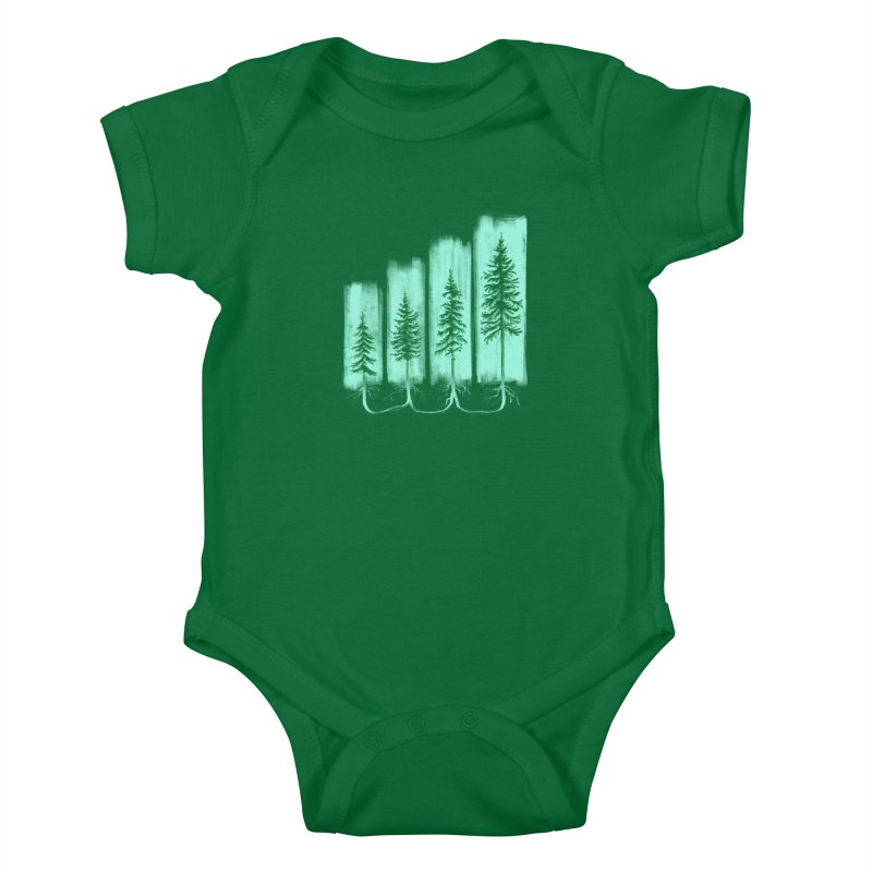 CONNECTED (Elevation Edition) Kids Baby Bodysuit by iCKY the Great's Artist Shop
