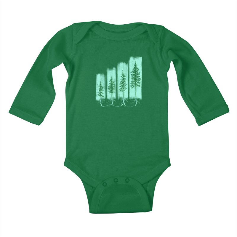 CONNECTED (Elevation Edition) Kids Baby Longsleeve Bodysuit by iCKY the Great's Artist Shop