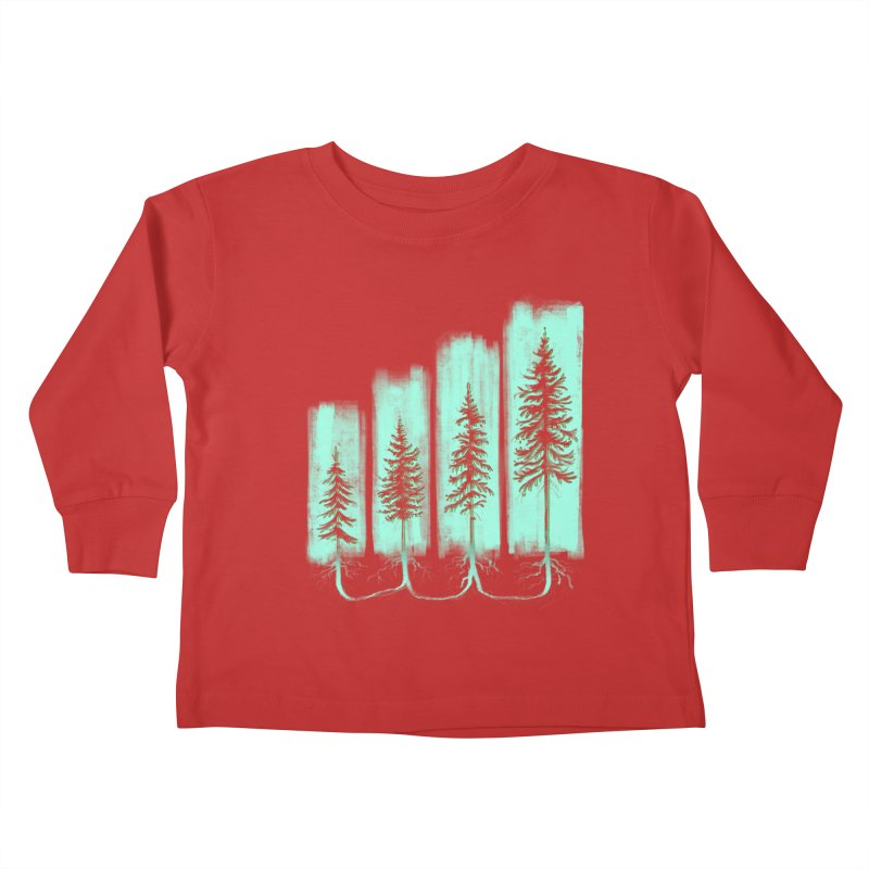 CONNECTED (Elevation Edition) Kids Toddler Longsleeve T-Shirt by iCKY the Great's Artist Shop