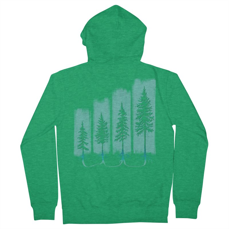 CONNECTED (Elevation Edition) Men's Zip-Up Hoody by iCKY the Great's Artist Shop