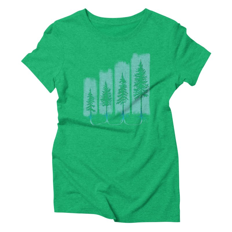 CONNECTED (Elevation Edition) Women's T-Shirt by iCKY the Great's Artist Shop