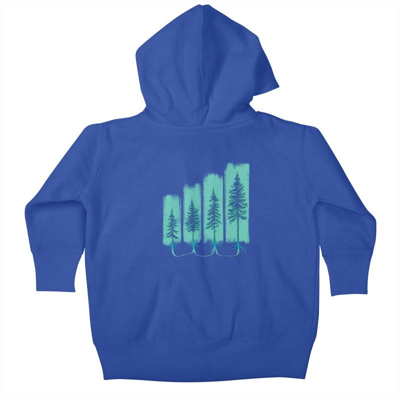 CONNECTED (Elevation Edition) Kids Baby Zip-Up Hoody by iCKY the Great's Artist Shop