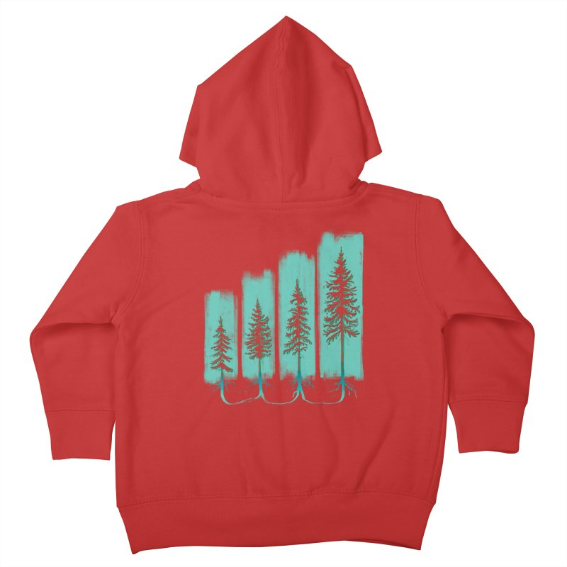 CONNECTED (Elevation Edition) Kids Toddler Zip-Up Hoody by iCKY the Great's Artist Shop
