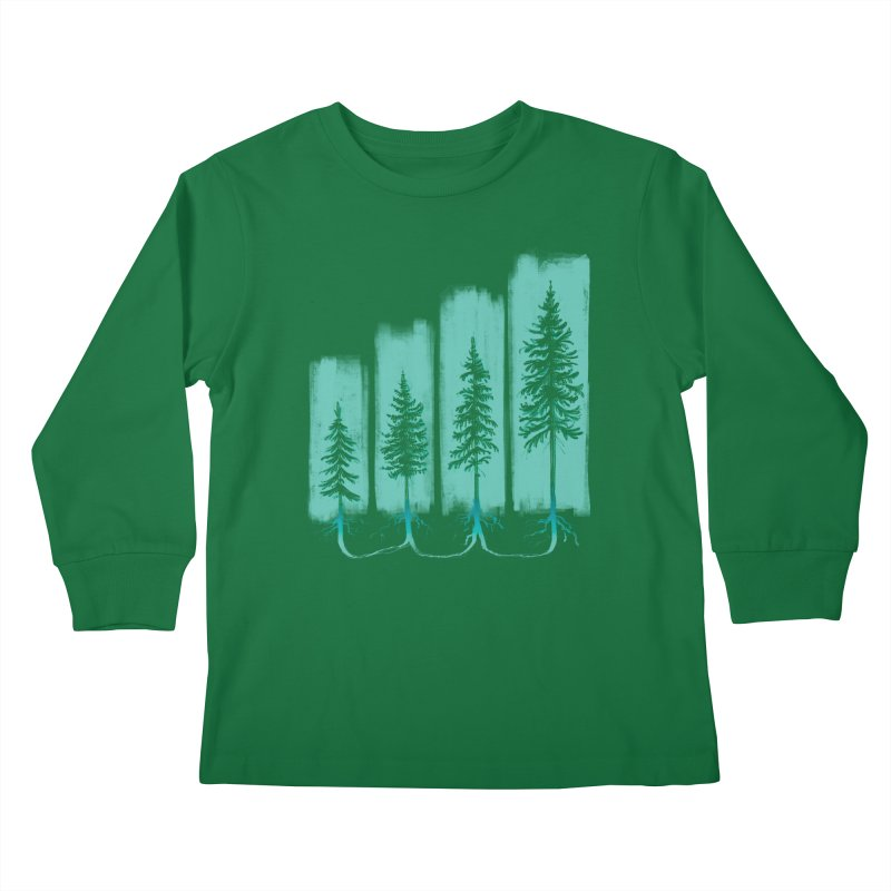CONNECTED (Elevation Edition) Kids Longsleeve T-Shirt by iCKY the Great's Artist Shop