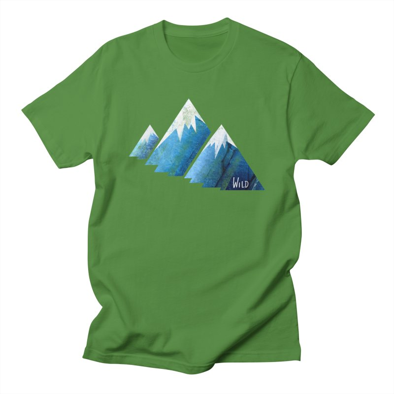 WILD MAJESTY Men's T-Shirt by iCKY the Great's Artist Shop