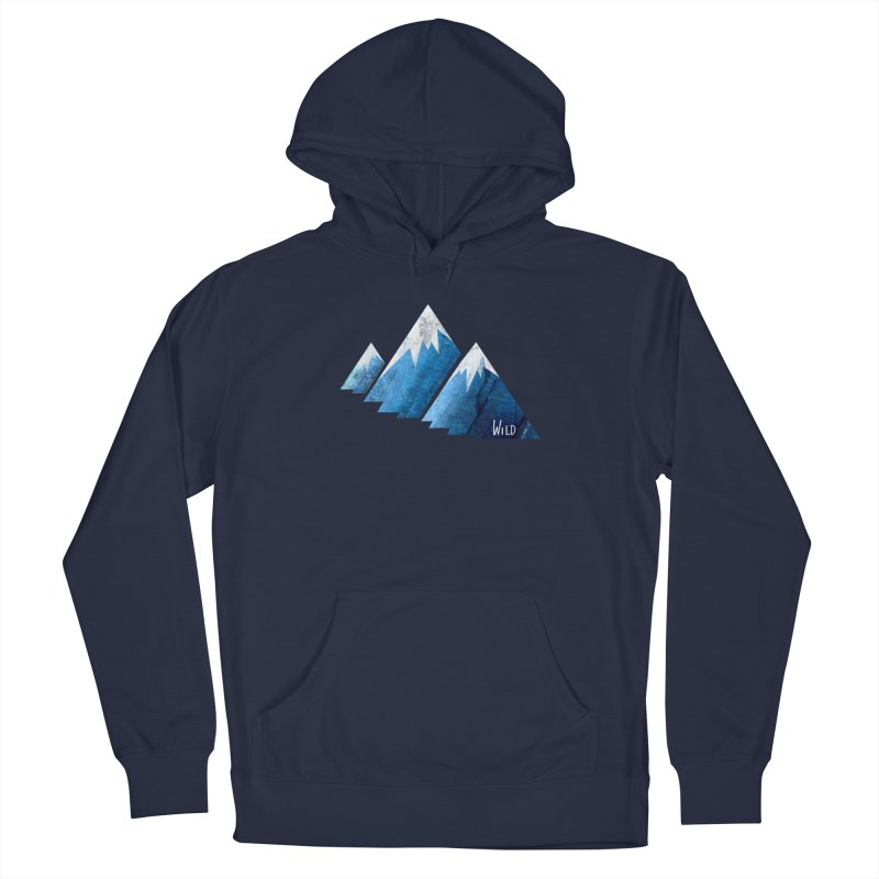 WILD MAJESTY Men's Pullover Hoody by iCKY the Great's Artist Shop