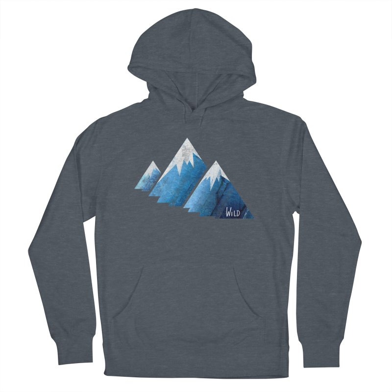 WILD MAJESTY Men's French Terry Pullover Hoody by iCKY the Great's Artist Shop