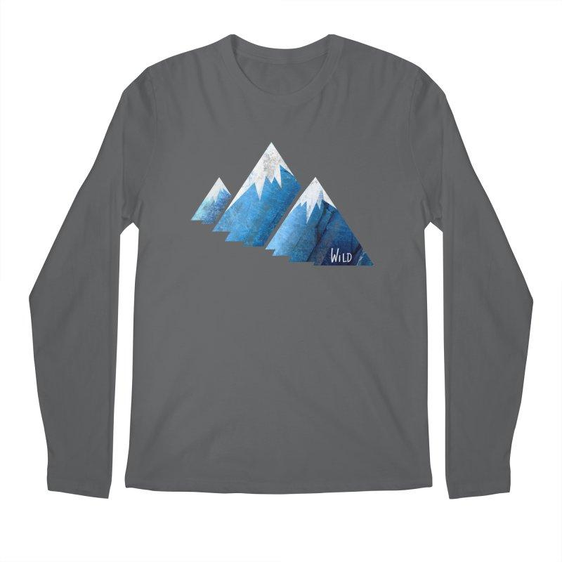WILD MAJESTY Men's Longsleeve T-Shirt by iCKY the Great's Artist Shop
