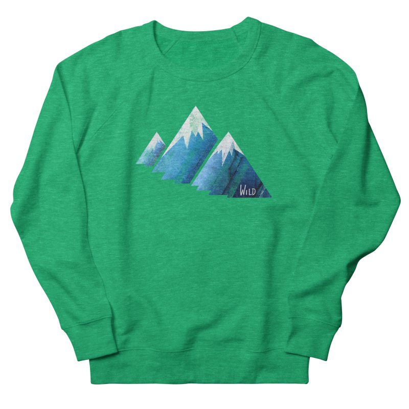 WILD MAJESTY Men's French Terry Sweatshirt by iCKY the Great's Artist Shop