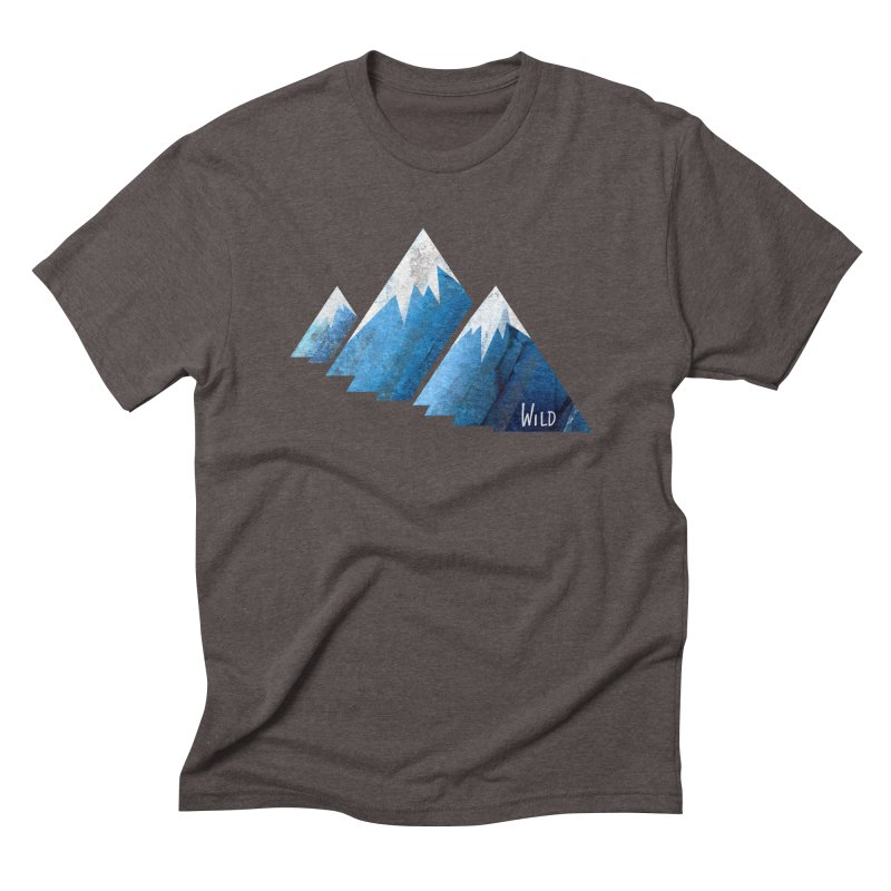WILD MAJESTY Men's Triblend T-Shirt by iCKY the Great's Artist Shop