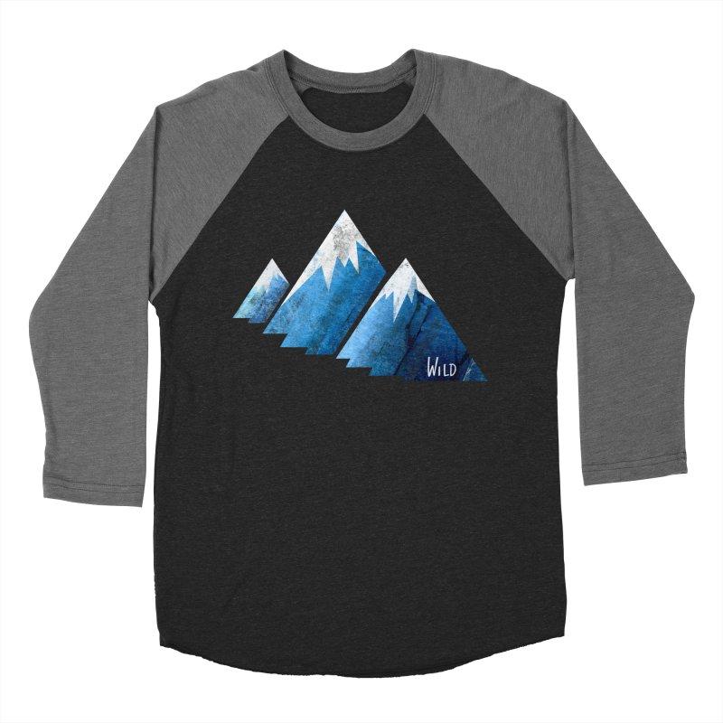 WILD MAJESTY Men's Baseball Triblend Longsleeve T-Shirt by iCKY the Great's Artist Shop